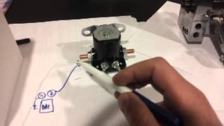 9. DIY starter remote mount solenoid easy step by step how to with schematic