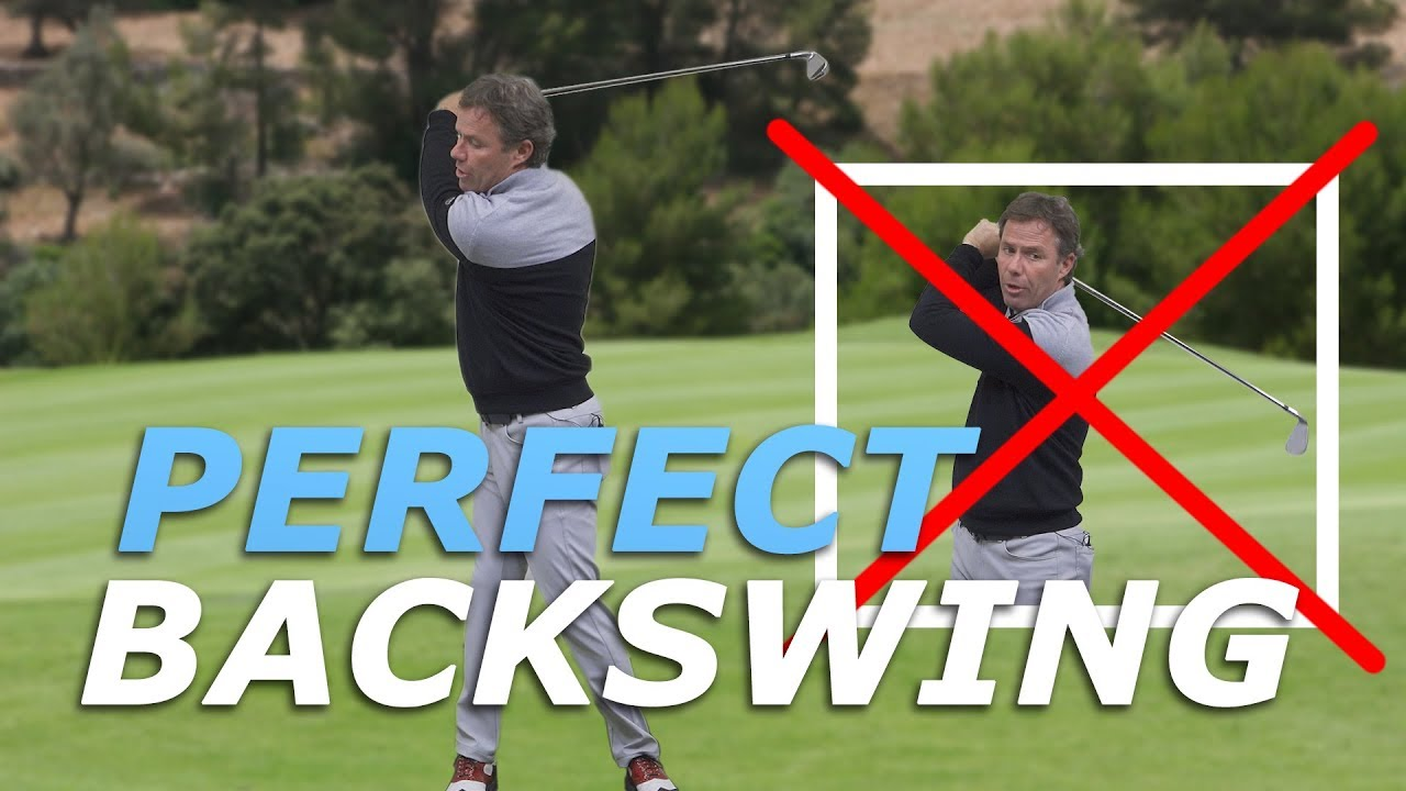 This is how you execute the perfect golf backswing