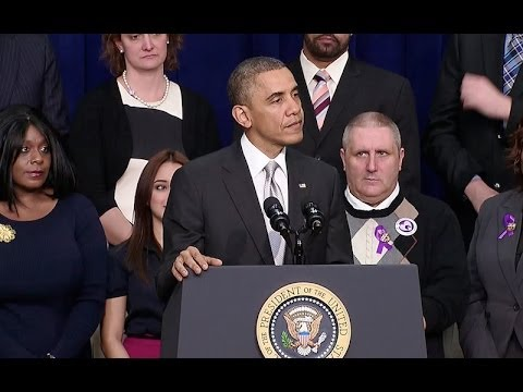 act - President Obama says now that HealthCare.gov is working for the vast majority of users, we must refocus on what's truly at stake, which is ensuring Americans...