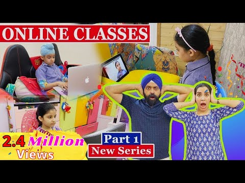 Online Classes - Part 1| Ramneek Singh 1313 @RS 1313 VLOGS @RS 1313 SHORTS