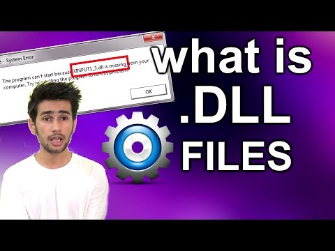 [HINDI] -  What is .dll files in windows & how they work ?
