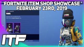 Fortnite Item Shop *NEW* REBEL AND REVOLT SKINS! [February 23rd, 2019] (Fortnite Battle Royale)