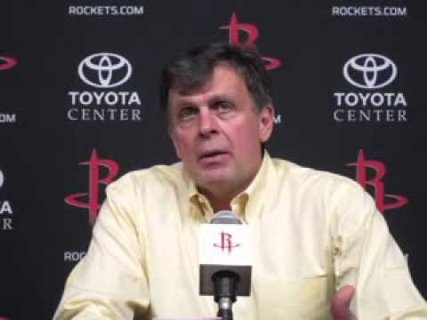 Kevin McHale after Rockets beat Warriors 105-83