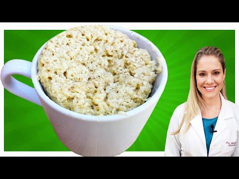 Nutricionista - Receita de Bolo de Caneca Low Carb de Coco [FÁCIL, RÁPIDO e DELICIOSO]