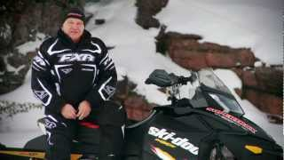3. SLED TEST: 2012 Ski-Doo MXZ X 600 E-TEC with rMotion