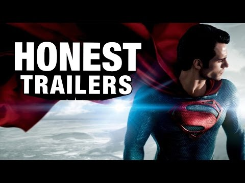 steel - Keeping movies honest ▻http://bit.ly/HonestTrailerSub Superman is the hero that every kid looked up to, until Man of Steel made him into a mopey violent a-ho...