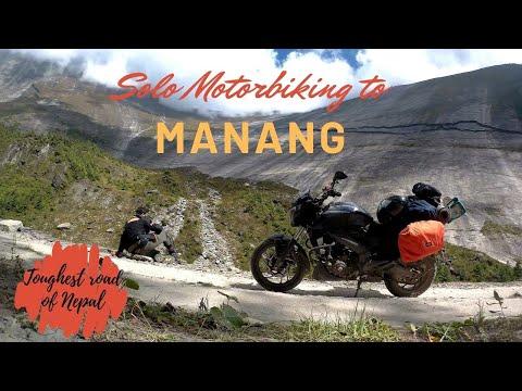 SOLO MOTOR BIKING TO MANANG,NEPAL.