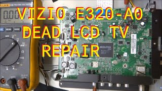 Find the correct TV part for your TV and more at ShopJimmy.com Click Here: http://bit.ly/ShopJimmyRepairing a Vizio E320-A0 That is totally dead. Involves eeprom replacement.