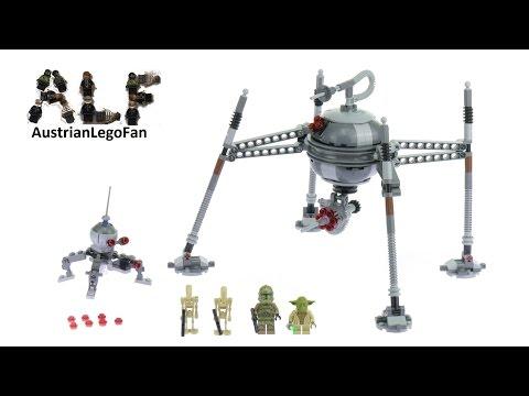 Vidéo LEGO Star Wars 75142 : Homing Spider Droid