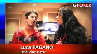 TG POKER Speciale WSOP2011 - Intervista LUCA PAGANO