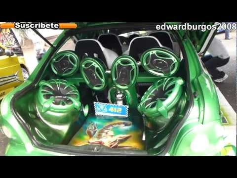 hyundai accent Tuning modificado car audio puertas verticales rines de lujo 2012 FULL HD