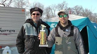 Clear Lake (IA) United States  City new picture : Winners of Yellow Bass Bonanza ice fishing tournament, Clear Lake Iowa 2014 by WillCFish You Tube