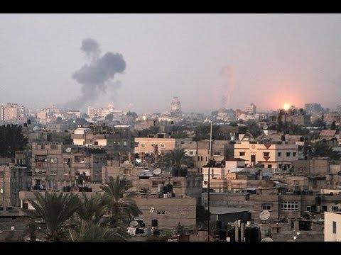 Massive Israeli Strike-back on Gaza Strip