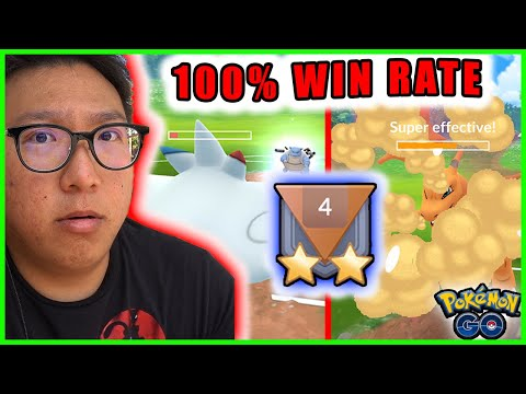100% WIN RATE WITH THIS TEAM - RANK 4 GO BATTLE GREAT LEAGUE