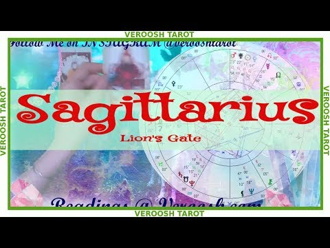 SAGITTARIUS ♐ Someone Generous is Coming ♐ August 2019 Lions Gate Tarot Reading