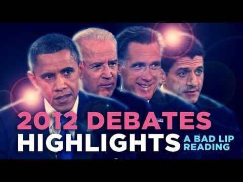 Bad Lip Reading of the 2012 Presidential Debates