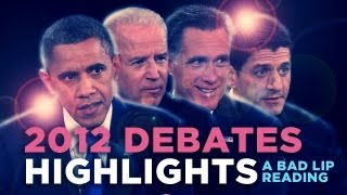 """2012 Debates Highlights""— A Bad Lip Reading of the 2012 US Presidential Debates"