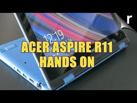 Acer Aspire R11 hands-on
