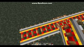 How to use minecraft Rails, Powered Rails, and Detector Rails