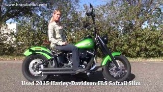 9. used 2015 Harley Davidson Softail Slim for sale