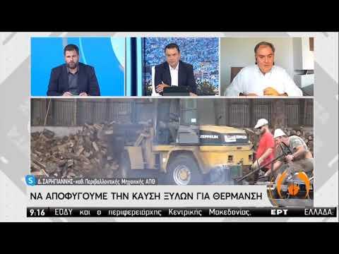 Δ.Σαρηγιάννης: Τα τζάκια διευκολύνουν την αερογενή μετάδοση του Covid-19 | 26/10/2020 | ΕΡΤ