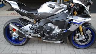 Download Video 2015 YAMAHA R1M TITANIUM AKRAPOVIČ + WSBK BREMBO BRAKES MP3 3GP MP4