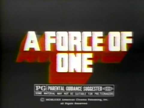 A Force of One 1980 teaser trailer