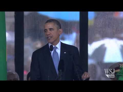 president - At the funeral service for Nelson Mandela, President Obama shook hands with Cuban President Raul Castro as he greeted world leaders, and in his speech, he pr...