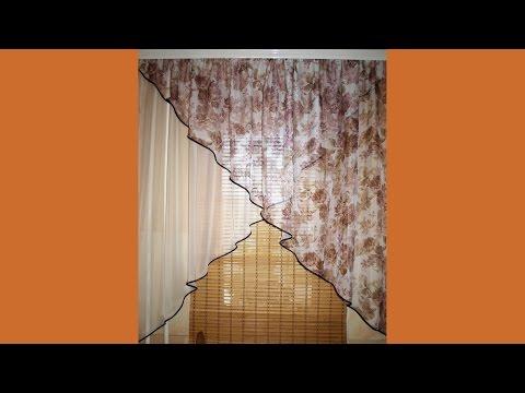Как сделать красивую штору своими руками 12