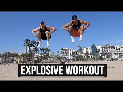 Explosive Jump Workout | No Gym Required | The Lost Breed