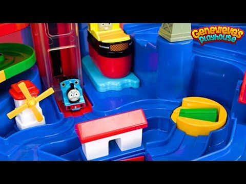 Thomas and Friends Train Playset and Puzzle for Kids!