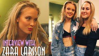 Zara raadt Nederlandse woorden! - Interview met Zara Larsson Video