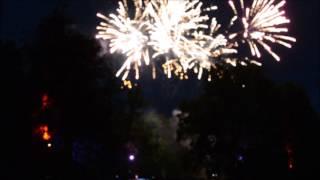 Feuerwerk Parkfest Tangerhütte