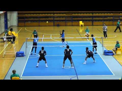 2011 Arafura Games  Sepaktakraw - Sports Authority of Thailand v Terengganu (Malaysia)(1of2)