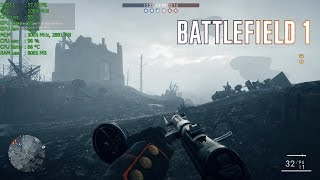Battlefield 1 Ultimate Edition test, Ultra/High settings, 1080p, DX11, gameplay, benchmark test - FPS at the top left corner (average 40-50).PC:Intel Core i5-2500K CPU @ 3.30 GHzKingston 16.00 GB DDRIII (1333Mhz)Gainward GTX 760 Phantom 4GB GDDR5Samsung 850 EVO SSD 250GBWindows 7 Home Premium 64 bitfull HD 1920x1080recorded with Nvidia ShadowPlay, FRAPS and MSI Afteburner (FPS counter, GPU, CPU, RAM usage, temperature)Nvidia GeForce Driver - 373.06Special thanks to BlackWatch68 ;)..feel free to comment, like or share :)