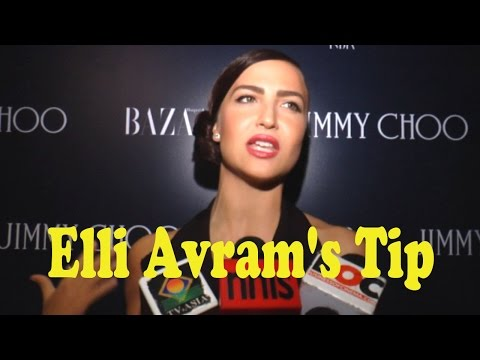 Elli Avram's Tip To Avoid Paparazzi Catching You W