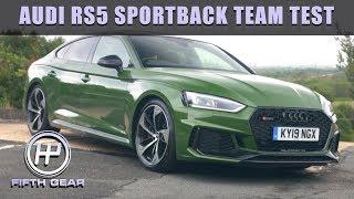 AUDI RS5 SPORTBACK TEAM TEST | FIFTH GEAR by Fifth Gear