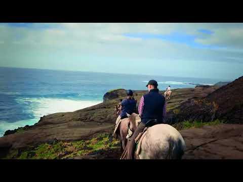 Nouvel an à cheval aux Açores