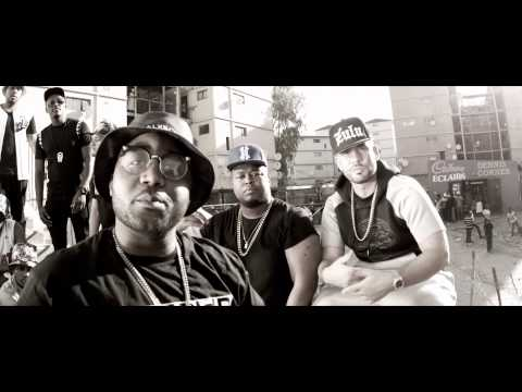 Cassper Nyovest feat. DJ Drama & Anatii - Ghetto (Official Music Video)