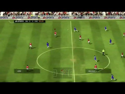 FIFA 09 Match Manchester United vs Chelsea