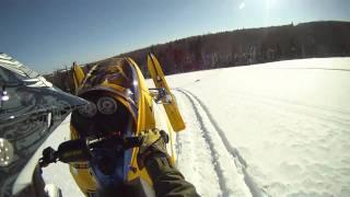 6. Ski Doo MXZ X-RS 800H.O. PTEK 2007  Field Ride Mont-Comi