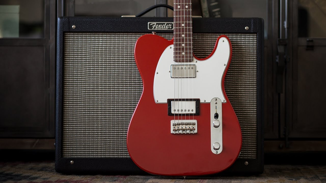 Fender Player Series Telecaster HH Electric Guitar – Demo and Features