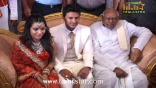 Actor Raja and Amritha Wedding Reception