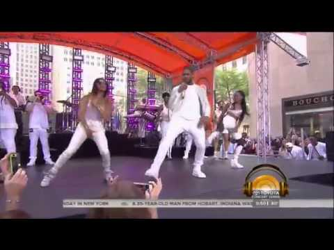 Queen Fee Fee Performing With Usher - Good Kisser