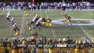Keith Pough vs Norfolk State (2012)