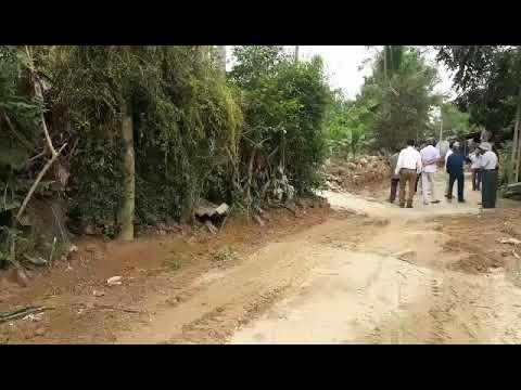 công tác giải tỏa HLATGT tuyến đường thôn Yên Mỹ từ nhà chị Hồng giáp Yên Phú đến nhà anh Tuấn thôn Yên Mỹ dài 816m