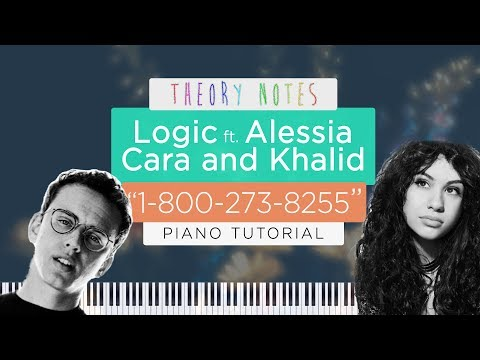 How to Play Logic ft. Alessia Cara & Khalid - 1-800-273-8255 | Theory Notes Piano Tutorial