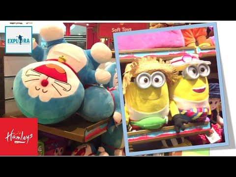 Hamleys Best Toy Shop in the World - Soft Toys Live Experience