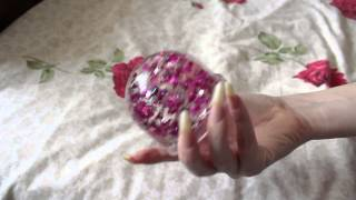 Blue Rose And Her Elegant Clear Long Nails (video 7)