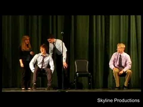 The Graduates - Teen Improv Comedy Fest 2008 (Part 1 of 3)
